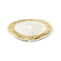 NOELLE ALAS POHON NATAL 120 CM – KREM/ GOLD