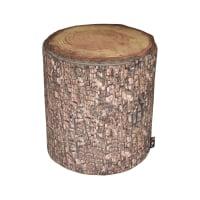 KURSI BANTAL FOREST 40X45 CM - COKELAT