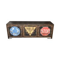 GANTUNGAN DINDING ROAD SIGNS 61X18.5X33 CM