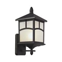 EGLARE LAMPU DINDING FUJI UPSIDE E27 - HITAM
