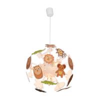 EGLARE LAMPU GANTUNG HIAS OWL ROUND 4L E14