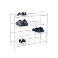 Krisbow Rak Sepatu 4 Tingkat - Putih