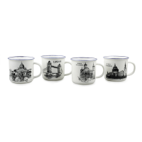 DELIZIOSO SET MUG VACATION 4 PCS