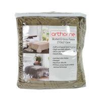 Arthome Selimut Embos Fleece 210x210 cm - CokelaT Tua