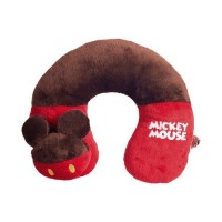 Disney Bantal Leher Mickey Mouse - Merah
