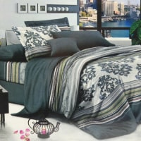Krishome Bed Cover 210x210 cm King DF120736AA1