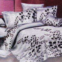 KRISHOME BED COVER 210X210 CM KING F02