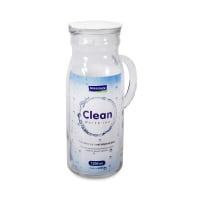 GLASSLOCK CLEAN BOTOL MINUM DENGAN GAGANG 1.2 LTR - PUTIH