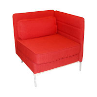 SOFA SUDUT TUNGGAL SIDE LENOX - MERAH