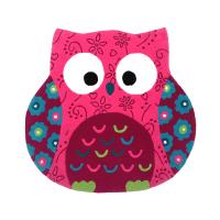 ESPRIT KARPET LITTLE OWL 100X100 CM
