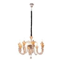 EGLARE CROWN LAMPU GANTUNG KRISTAL E14 8L