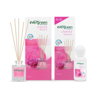 EVERGREEN SET AND REFILL CHEERFUL BLOSSOM DIFFUSER 30 ML