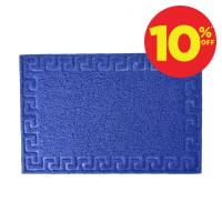 KESET PVC MOTIF 40X60 CM - BIRU