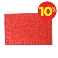 KESET PVC MOTIF 40X60 CM- MERAH