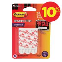 COMMAND SET MOUNTING STRIPS - MEDIUM