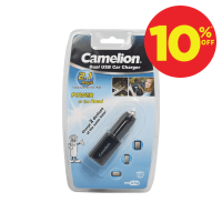CAMELION CHARGER MOBIL - HITAM