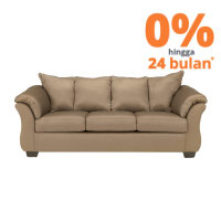 ASHLEY  SOFA DARCY 3 DUDUKAN - COKELAT