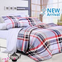 KRISHOME BED COVER MICROTEX 150X210 CM SINGLE 16539