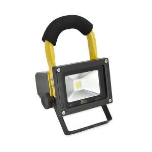 KRIS LAMPU SOROT LED ISI ULANG 10W 6HR 6500K