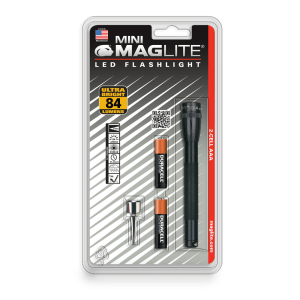 MAGLITE SENTER LED MINI MAG HANGPACK AAA SP32016 - BLACK