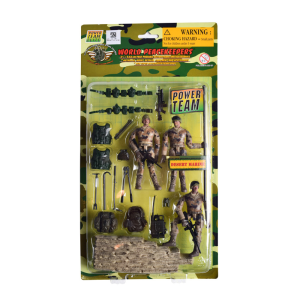 POWER TEAM FIGUR MILITER PENJAGA PERDAMAIAN