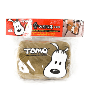 TOMO BANTAL LEHER MEMORY FOAM - COKLAT