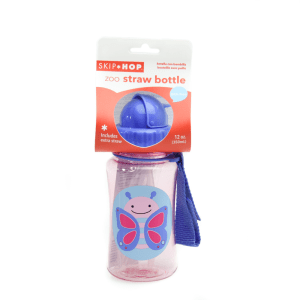 SKIP HOP STRAW BOTTLE ZOO BUTTERFLY