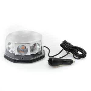 LAMPU STROBE MOBIL 8 LED - ORANYE