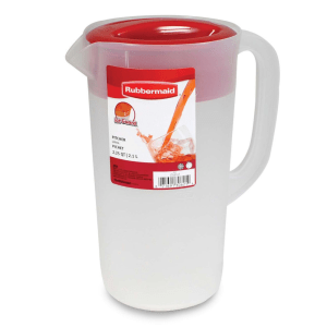 RUBBERMAID PITCHER KLASIK 2.1 LTR - MERAH