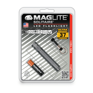 MAGLITE SENTER LED SOLITAIRE HANGPACK SJ3A09 - ABU ABU