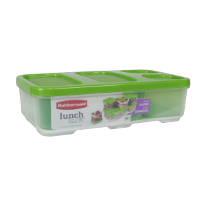 RUBBERMAID LUNCH BLOX ENTRÉE CONTAINER - HIJAU