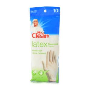 MR.CLEAN LATEX SARUNG TANGAN DISPOSABLE 10 PCS