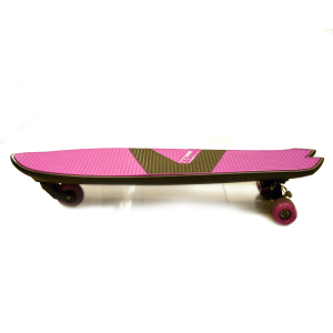 YVOLUTION SKATEBOARD EXY SHARKER - PINK