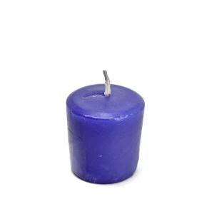 CANDLE LITE LAVENDER BREEZE LILIN VOTIVE 3,8 X 5 CM - UNGU