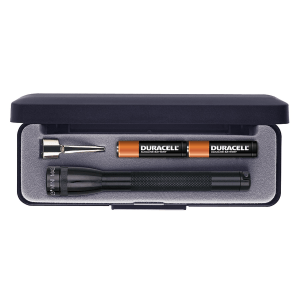 MAGLITE SENTER MINI GIFT BOX AAA M3A012R - HITAM