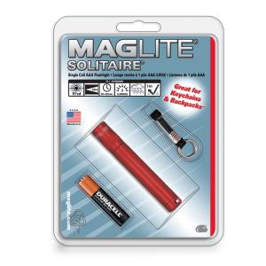 MAGLITE SENTER HANGPACK SOLITAIRE K3A036R - MERAH