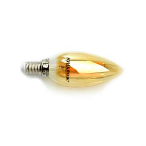 KRISBOW BOHLAM LAMPU PIJAR LED CANDLE 4W 2700K