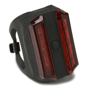 CROPS LAMPU BELAKANG SEPEDA 6 LED - HITAM