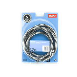 TATAY SELANG SHOWER REINFORCED PVC 1.7M - HITAM
