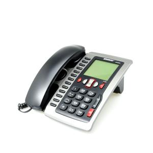KRISBOW TELEPON KABEL DENGAN CALLER ID - HITAM SILVER