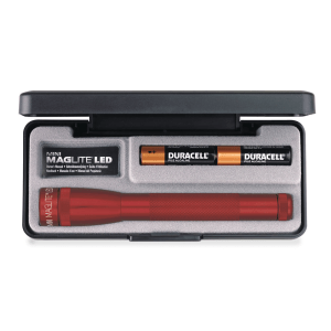 MAGLITE SENTER LED MINI MAG GIFT BOX AA SP22037 - MERAH