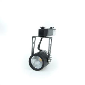 LAMPU LED TRACK 10W 24D 3000K - HITAM