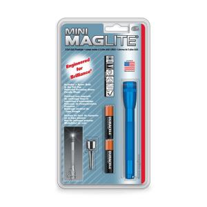 MAGLITE SENTER MINI HANGPACK AAA M3A116R - BIRU