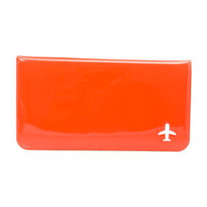 PASSPORT DOMPET TRAVEL - MERAH