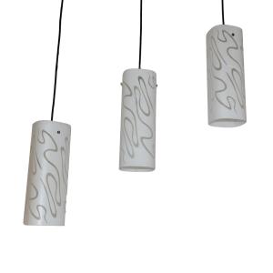 EGLARE LAMPU GANTUNG HIAS WAVY 3 LAMPU - PUTIH