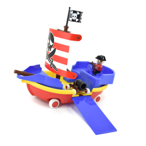 VIKING TOYS PIRATE SHIP IN GIFT BOX