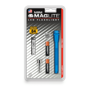 MAGLITE SENTER LED MINI MAG HANGPACK AAA SP32116 - BIRU