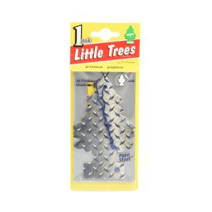 LITTLE TREES PENGHARUM MOBIL - PURE STEEL