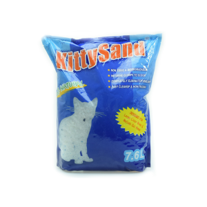 KITTY SAND PASIR KUCING SILICA 7.6 LTR