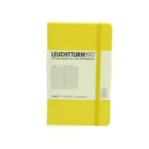 LEUCHTTURM NOTEBOOK KOTAK A6 - LEMON